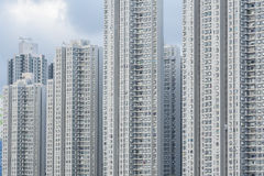 Residential building. In Hong Kong Royalty Free Stock Photography