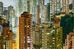 Residential building in Hong Kong Stock Photo