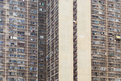 Residential building in Hong Kong Royalty Free Stock Photo