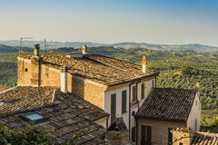 Residential building in Loreto Aprutino Italy Royalty Free Stock Image