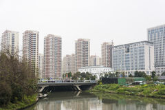 Residential building in Minghui road Royalty Free Stock Photography