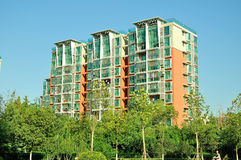 Residential building. In nanjing china Royalty Free Stock Photo