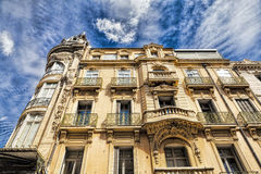 Residential building in Narbonne Royalty Free Stock Photography