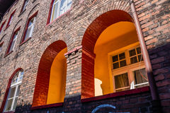 Residential building in Nikiszowiec Royalty Free Stock Photos
