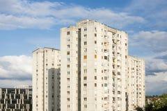 Residential building Novi Sad royalty free stock photography