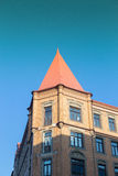 Residential building. An old residential building in gothenburg sweden Stock Photo