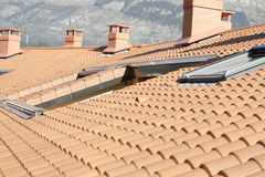 Residential building roof Royalty Free Stock Photography