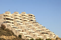 Residential building in Spain Royalty Free Stock Image
