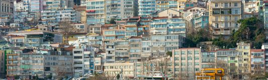 A Residential Building In Turkey stock photo