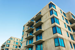 Residential building under construction Stock Photo