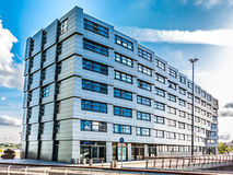 Residential building The Wave in Almere-City, Netherlands royalty free stock images