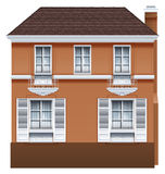 A residential building Royalty Free Stock Image