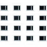 Residential building windows background Royalty Free Stock Image