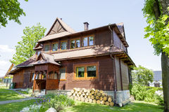 Residential building, Zakopane, Poland Royalty Free Stock Images