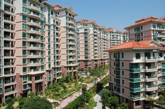 The residential buildings Royalty Free Stock Images