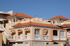 Residential buildings Royalty Free Stock Photo