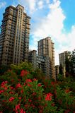 residential buildings Stock Photography