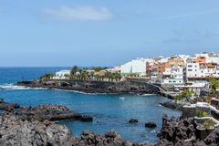 Residential buildings Tenerife Stock Photo