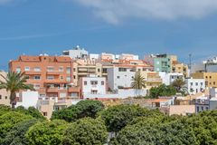 Residential buildings Tenerife Royalty Free Stock Photos