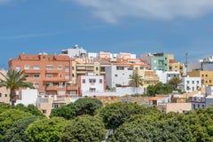 Residential buildings Tenerife Royalty Free Stock Photos
