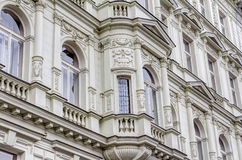 Residential buildings in the art-nouveau style Stock Photography