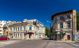 Residential buildings in Bucharest Stock Photo