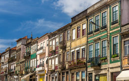 Residential buildings in Campanha district of Porto Stock Image