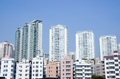 Residential buildings in China Royalty Free Stock Image