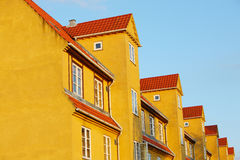 Buildings in Copenhagen suburb Stock Images