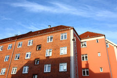 Residential buildings details Royalty Free Stock Image