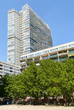Residential Buildings In Donau City, The New Part Of Vienna Royalty Free Stock Images