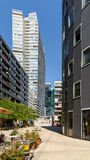 Residential Buildings In Donau City, The New Part Of Vienna Royalty Free Stock Image