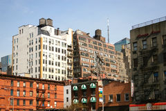 Residential buildings in Manhattan Royalty Free Stock Photography