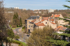 Residential buildings in Metz, Lorraine, France Stock Images
