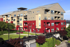 Residential buildings, Portland OR. Stock Photo