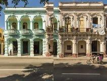 Residential buildings on Prado Havana #2 Royalty Free Stock Images
