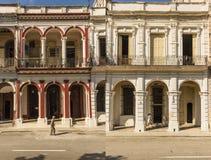 Residential buildings on Prado Havana #3 Stock Images