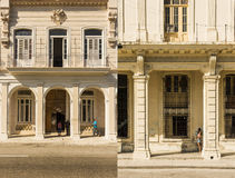 Residential buildings on Prado Havana #5 Stock Image