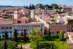 Residential buildings in Rome Stock Photo