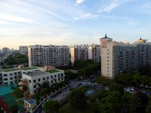 Residential buildings in Shanghai Stock Image