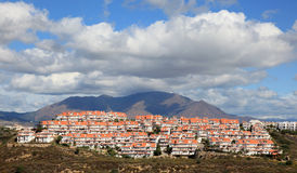 Residential buildings in Spain Royalty Free Stock Photography
