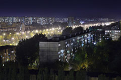 Residential buildings Stock Image