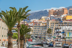 Residential buildings Tenerife Stock Image