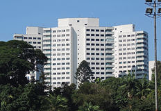 Residential buildings Royalty Free Stock Photos