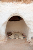 Residential caves of troglodyte in Matmata, Tunisia Stock Image