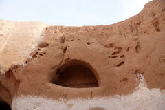 Residential caves of troglodyte in Matmata, Tunisia Stock Photo