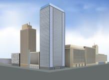 Residential city Stock Photo