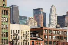 Residential cityscape of Manhattan Royalty Free Stock Photography