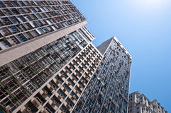 Residential or Commercial Buildings in City Downtown. Residential or Commercial Buildings in Downtown Rio de Janeiro, Brazil Stock Image