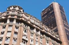 Residential or Commercial Buildings in City Downtown. Residential or Commercial Buildings in Downtown Rio de Janeiro, Brazil Royalty Free Stock Photos